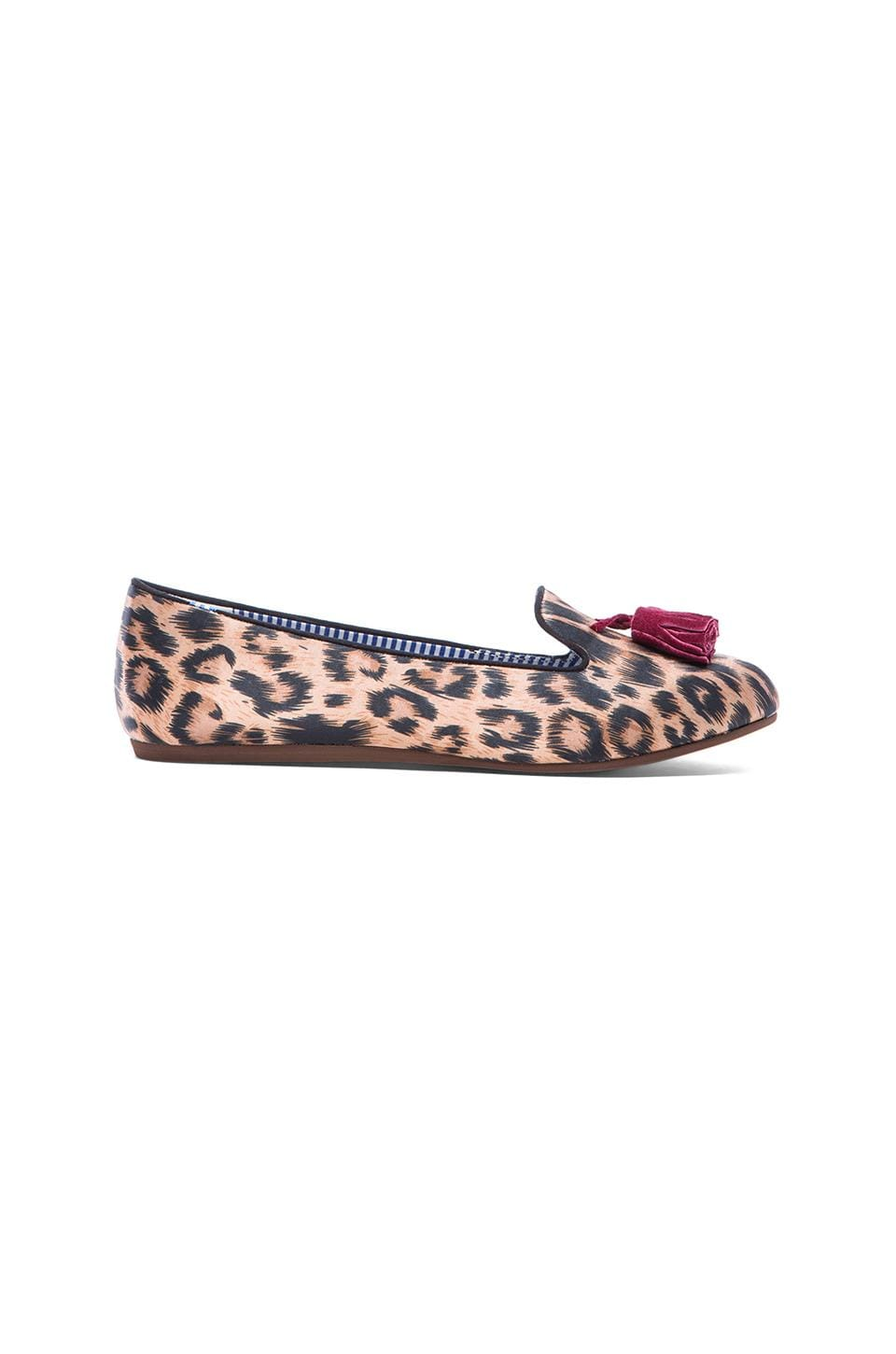 Charles Philip Shanghai Sheila Loafer in Classic Leopard