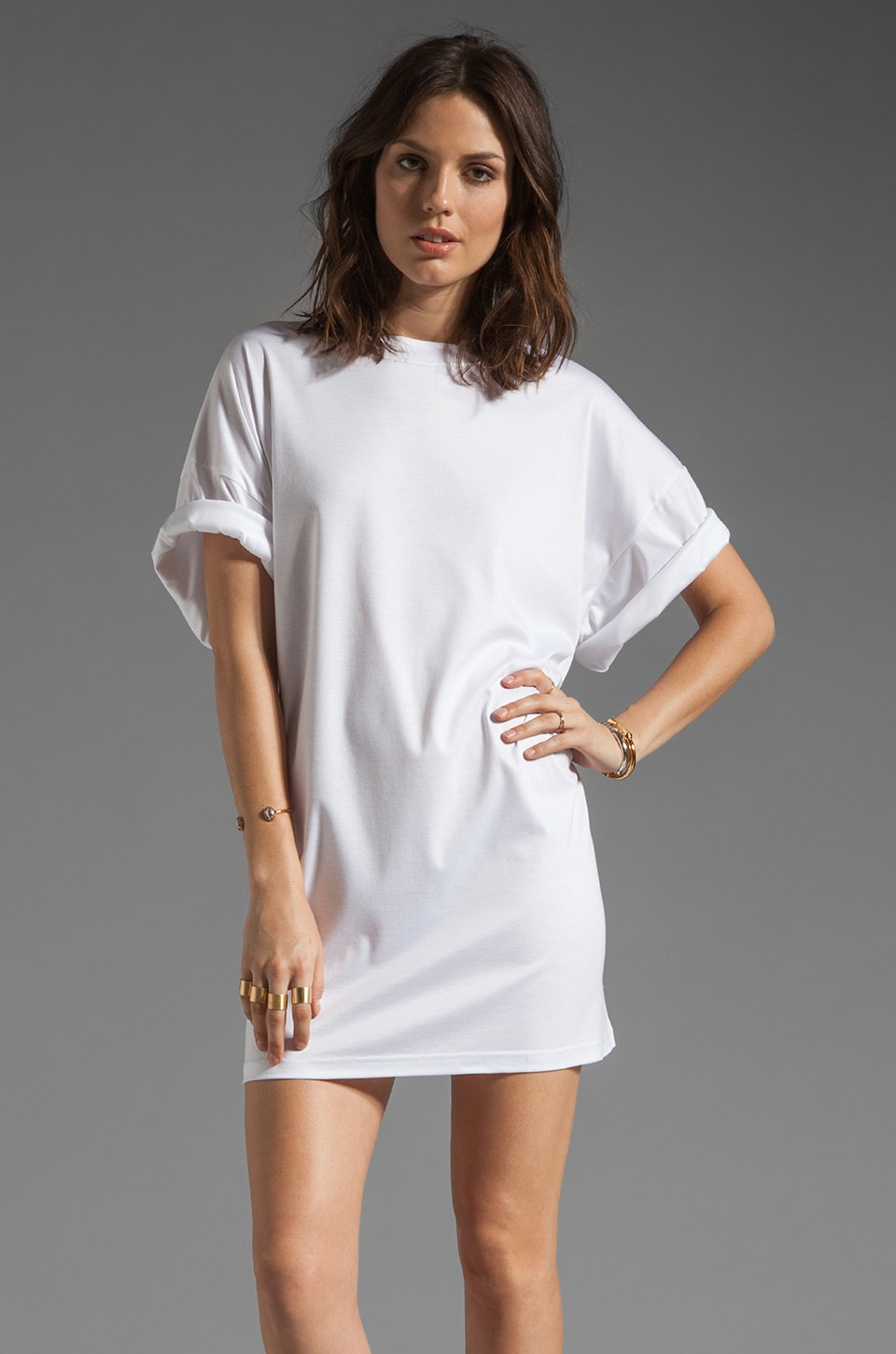 complexgeometries Core T Dress in White