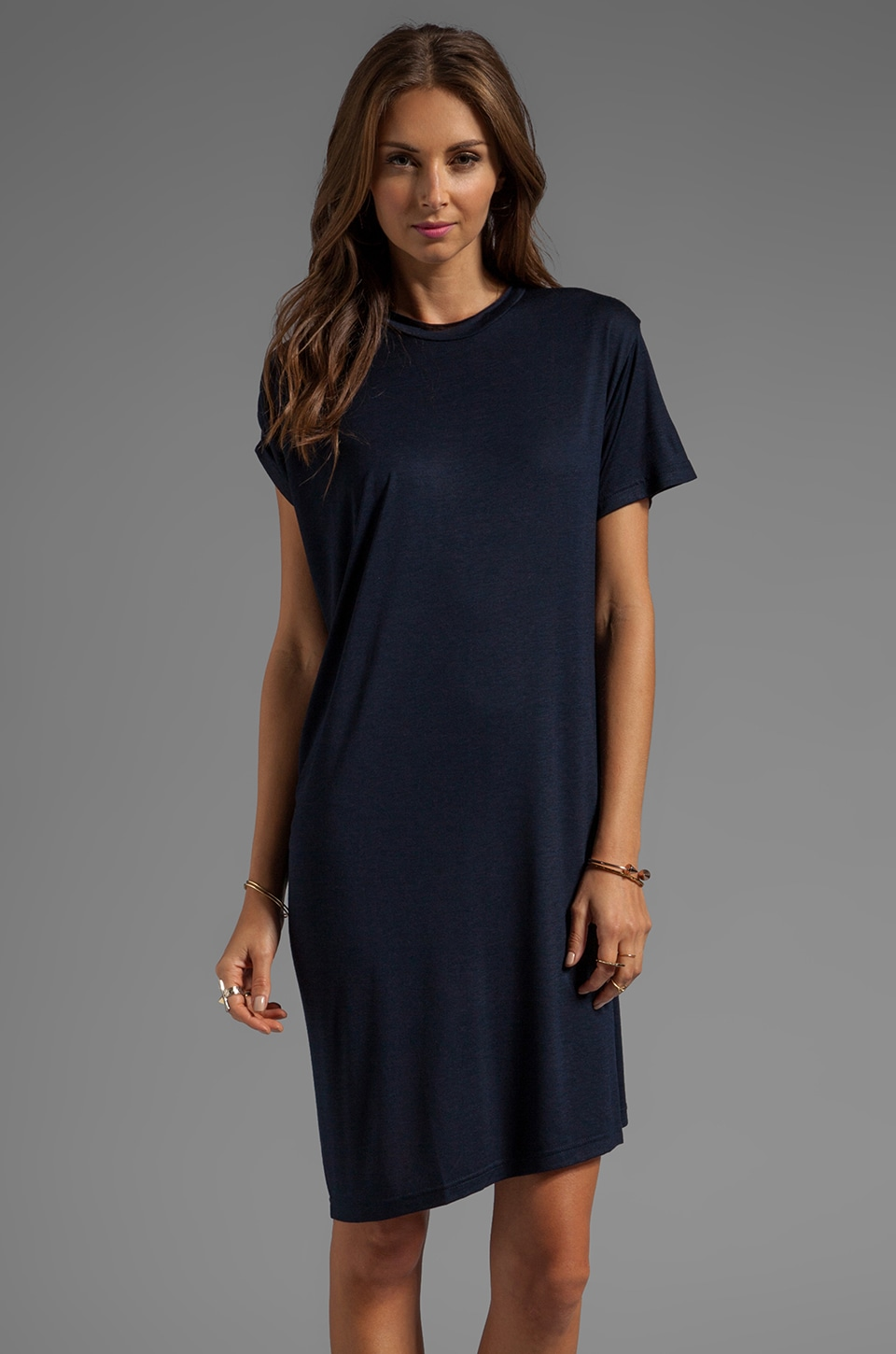 complexgeometries Ebb Tunic in Navy