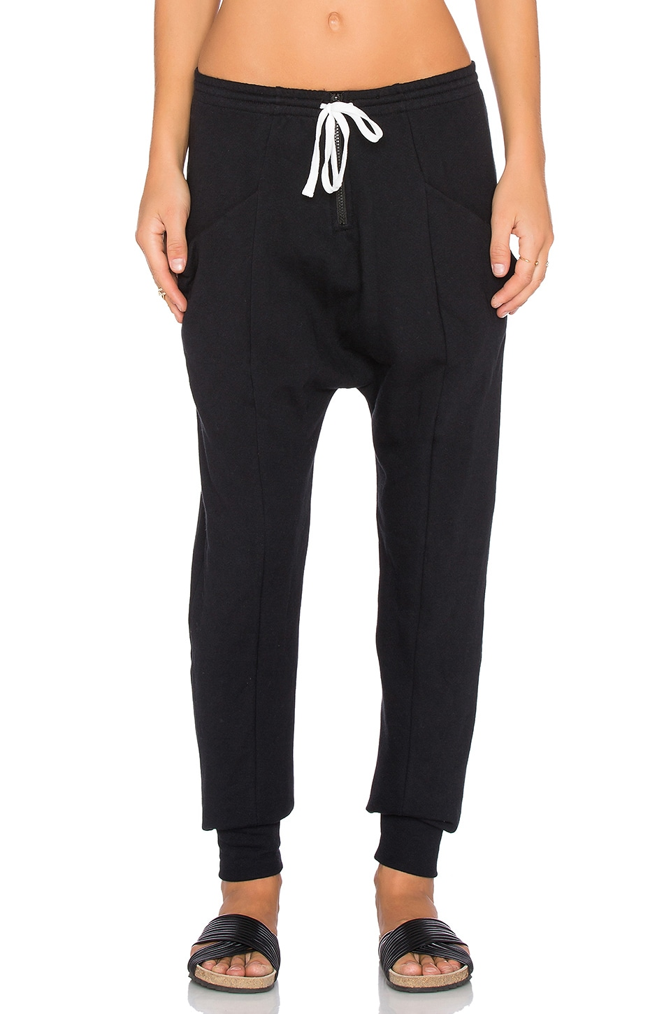 Craft & Commerce Ankle Sweatpant in Black