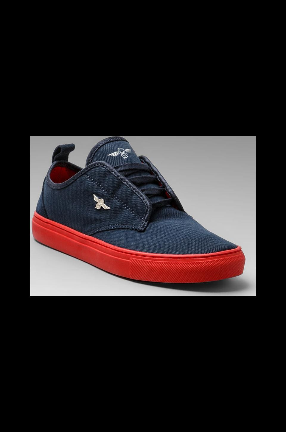 Creative Recreation Lacava in Navy/Red