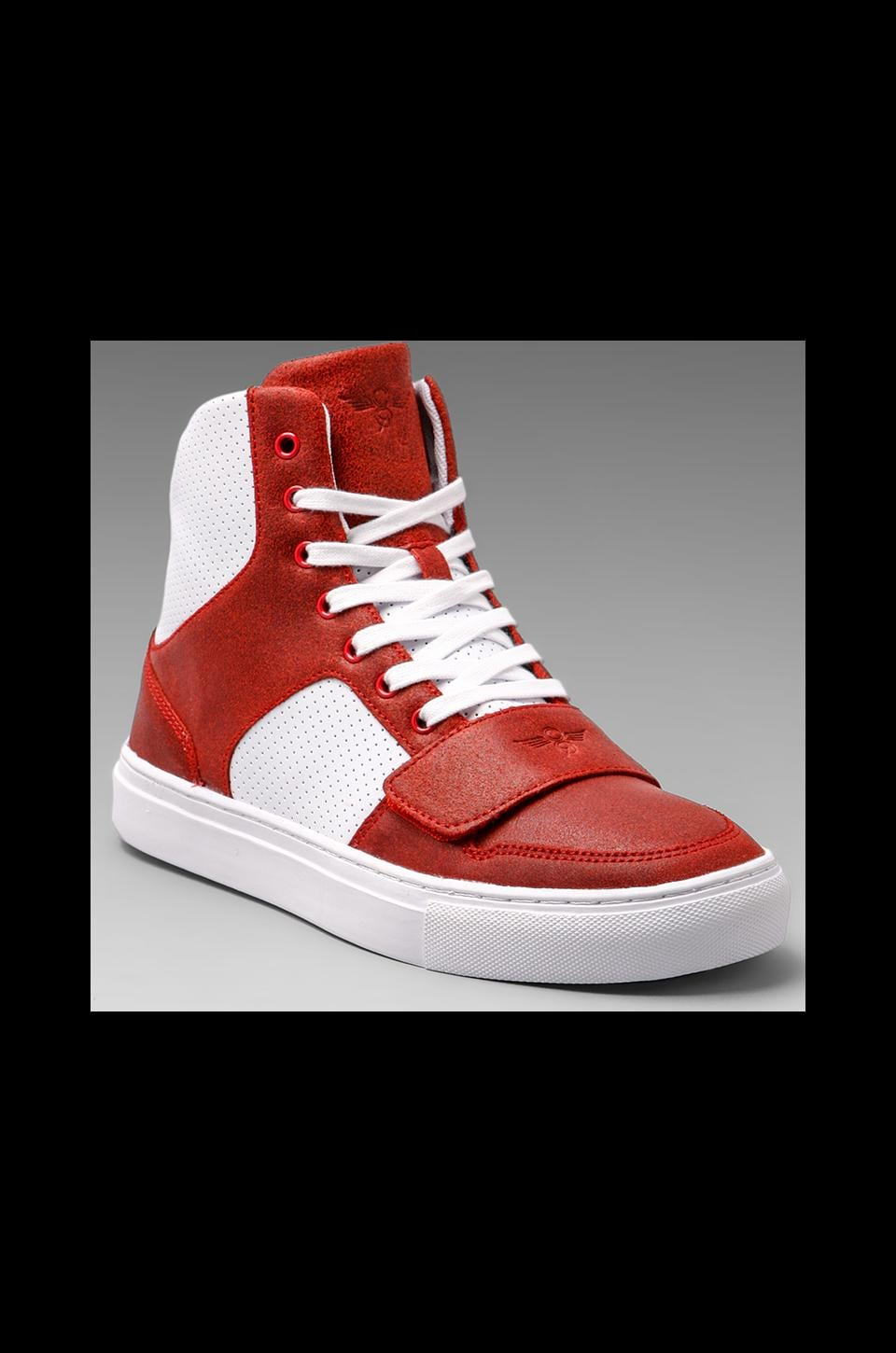Creative Recreation Cesario X in Red Vintage