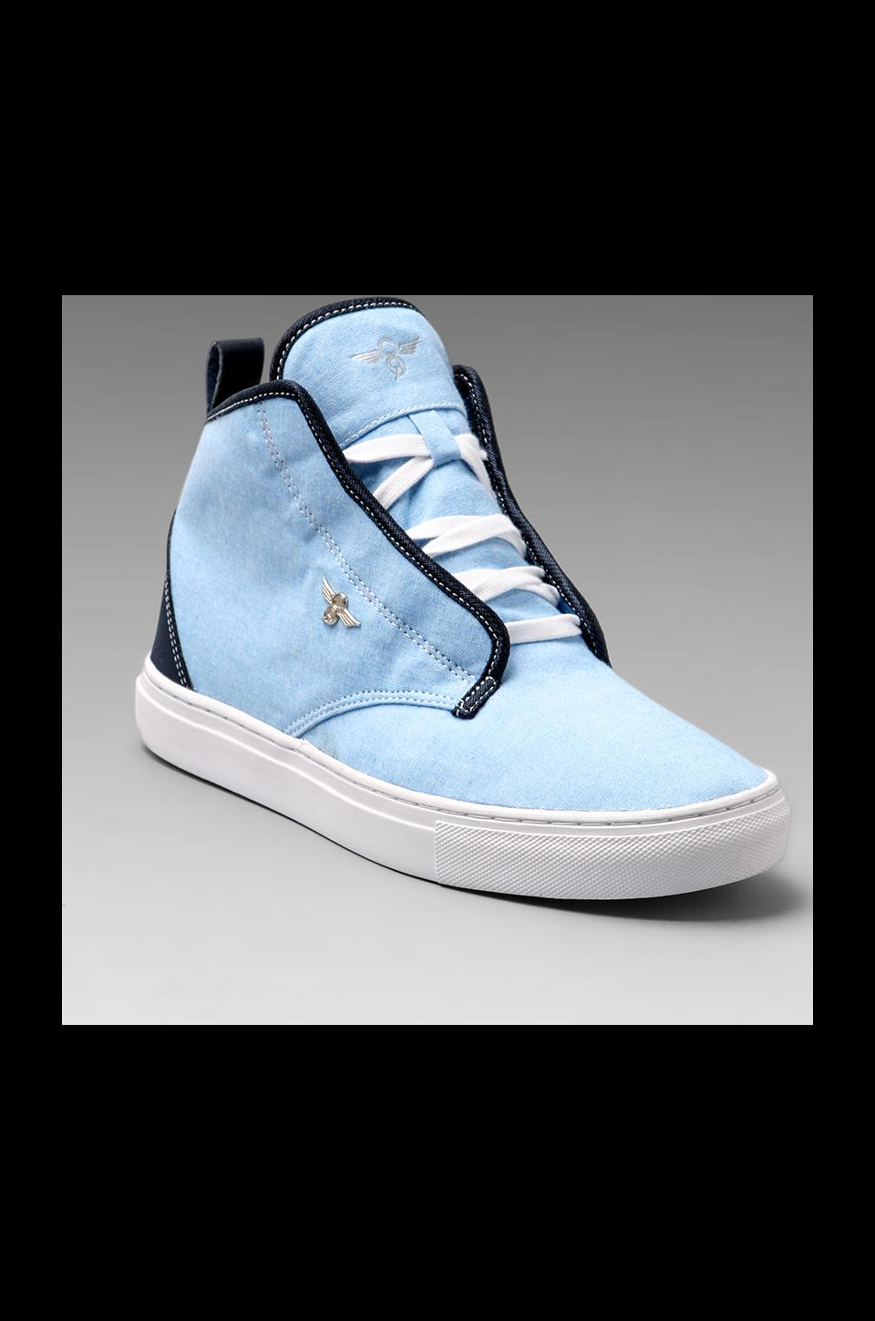 Creative Recreation Lacava Mid in Sky Chambray