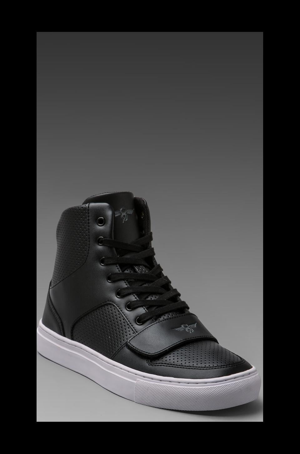 Creative Recreation Cesario X in Black Leather