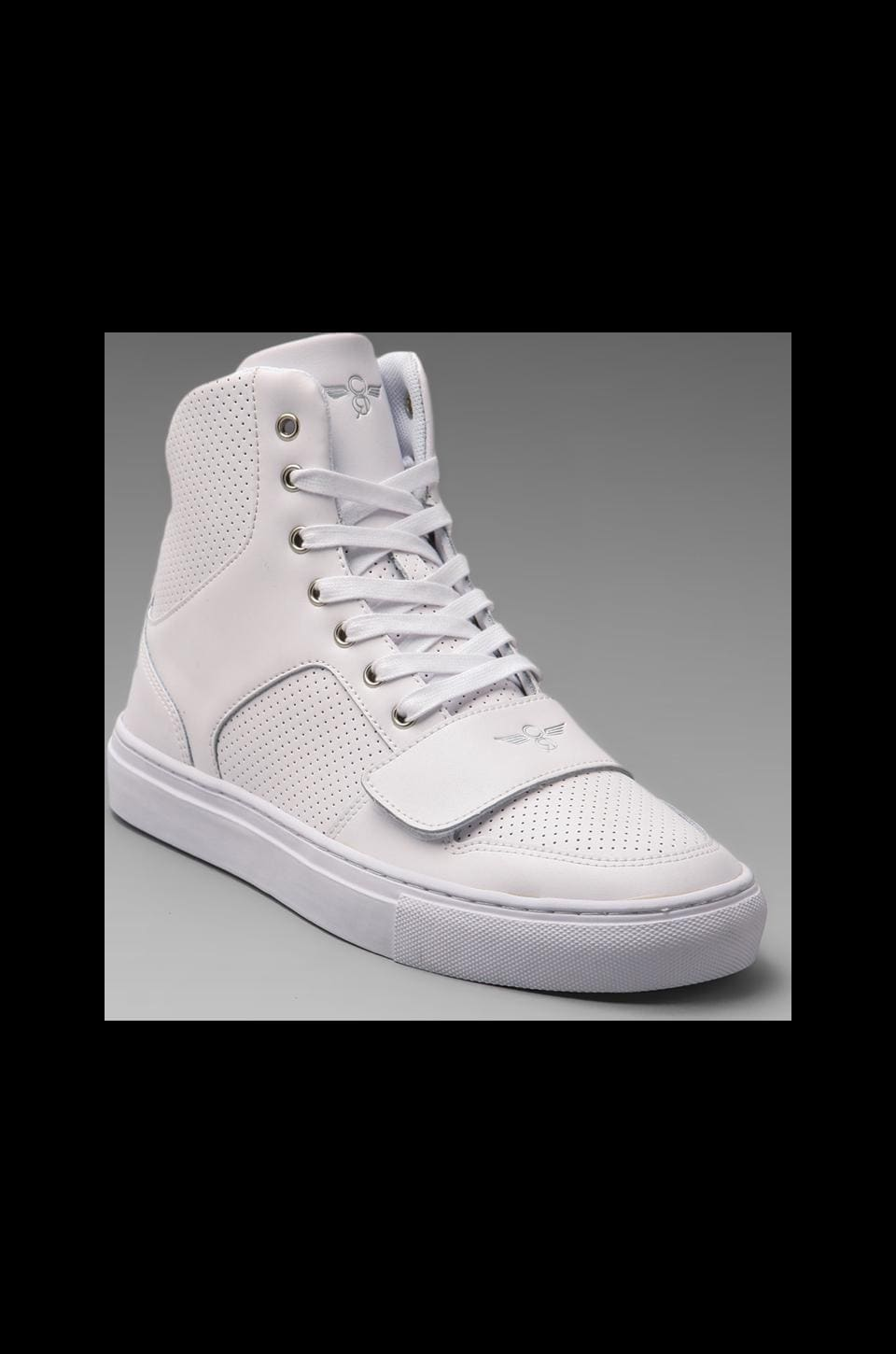 Creative Recreation Cesario X in White Leather