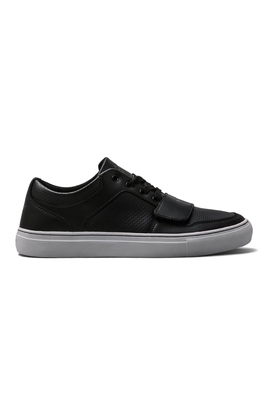 Creative Recreation Cesario Lo X in Black Leather