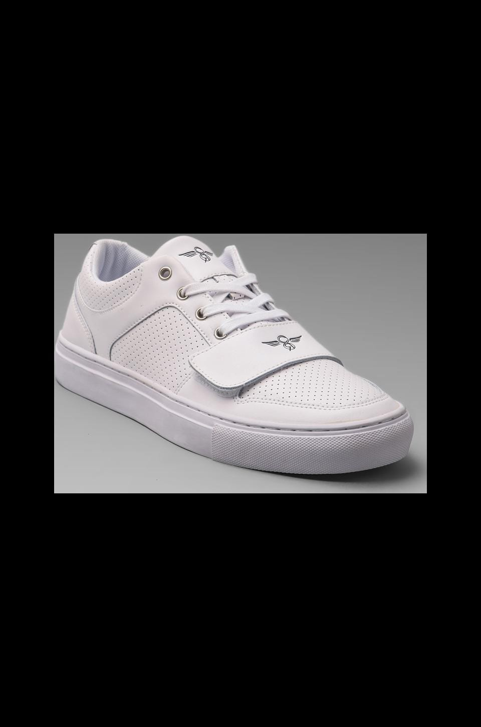 Creative Recreation Cesario Lo X in White Leather
