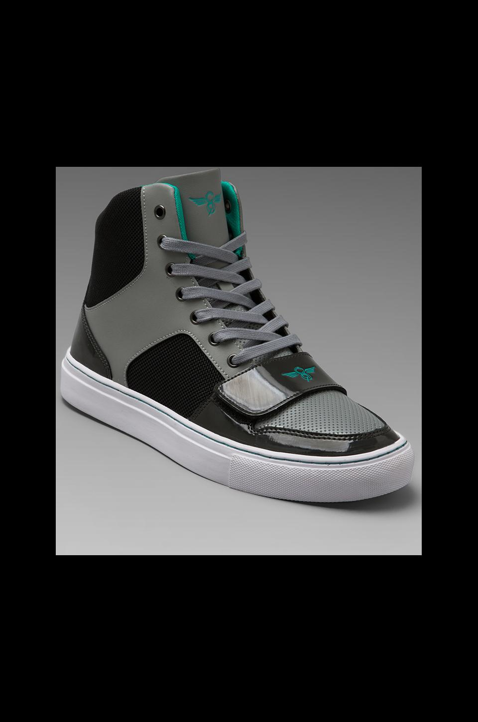 Creative Recreation Cesario X in Grey/Black/Charcoal