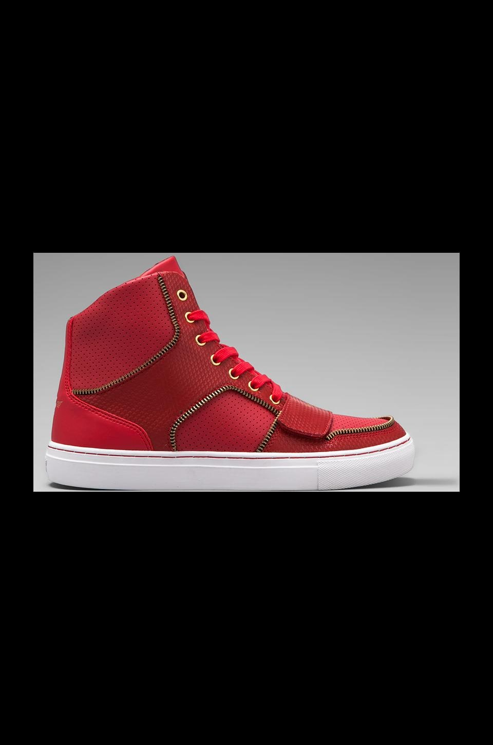 Creative Recreation Cesario X in Red Zipper