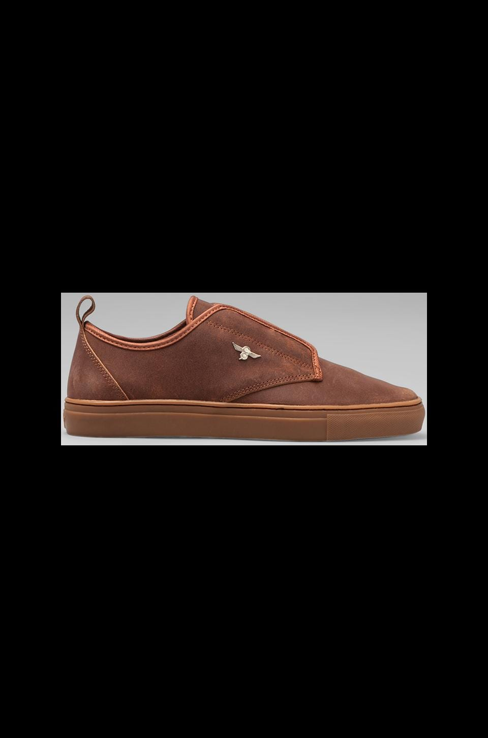Creative Recreation Lacava in Brown Leather