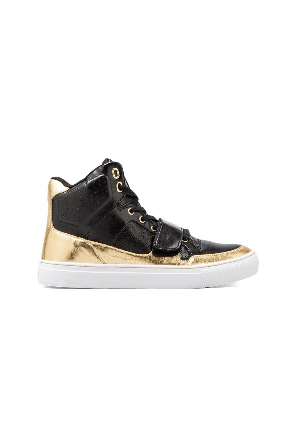Creative Recreation Cota in Black/Gold