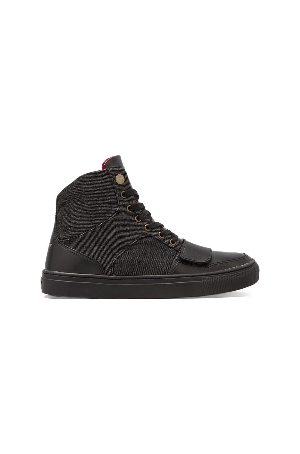 Creative Recreation Cesario X in Black Denim