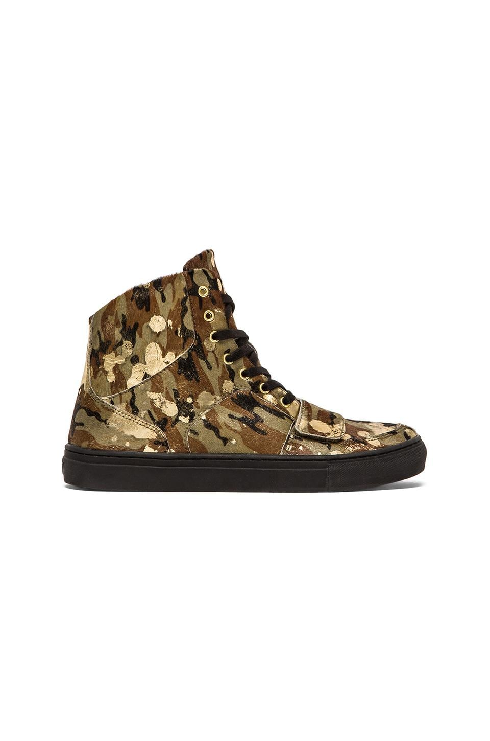 Creative Recreation Cesario X in Camo & Gold & Black
