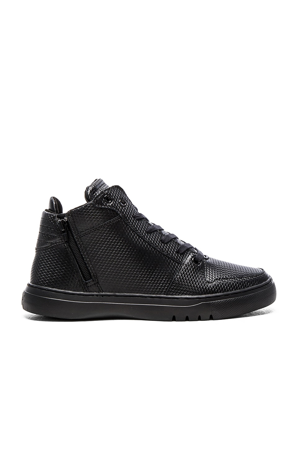 Creative Recreation Adonis Mid in Black Black