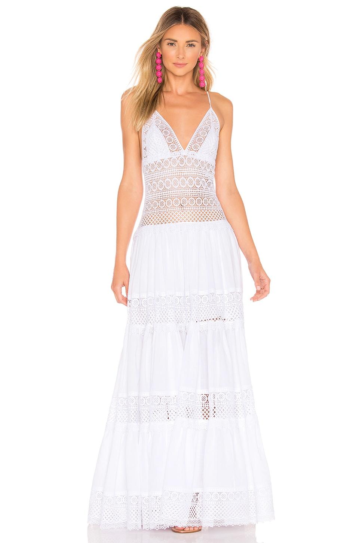 Charo Ruiz Ibiza Miriam Dress in White