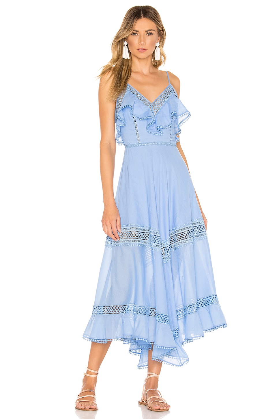 Charo Ruiz Ibiza Sabine Dress in Blue