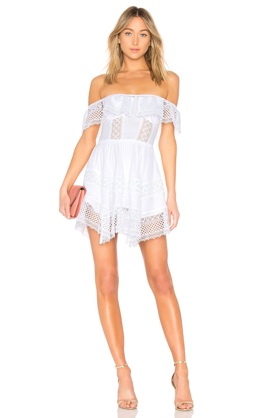 Charo Ruiz Ibiza Charo Ruiz Vaiana Dress in White