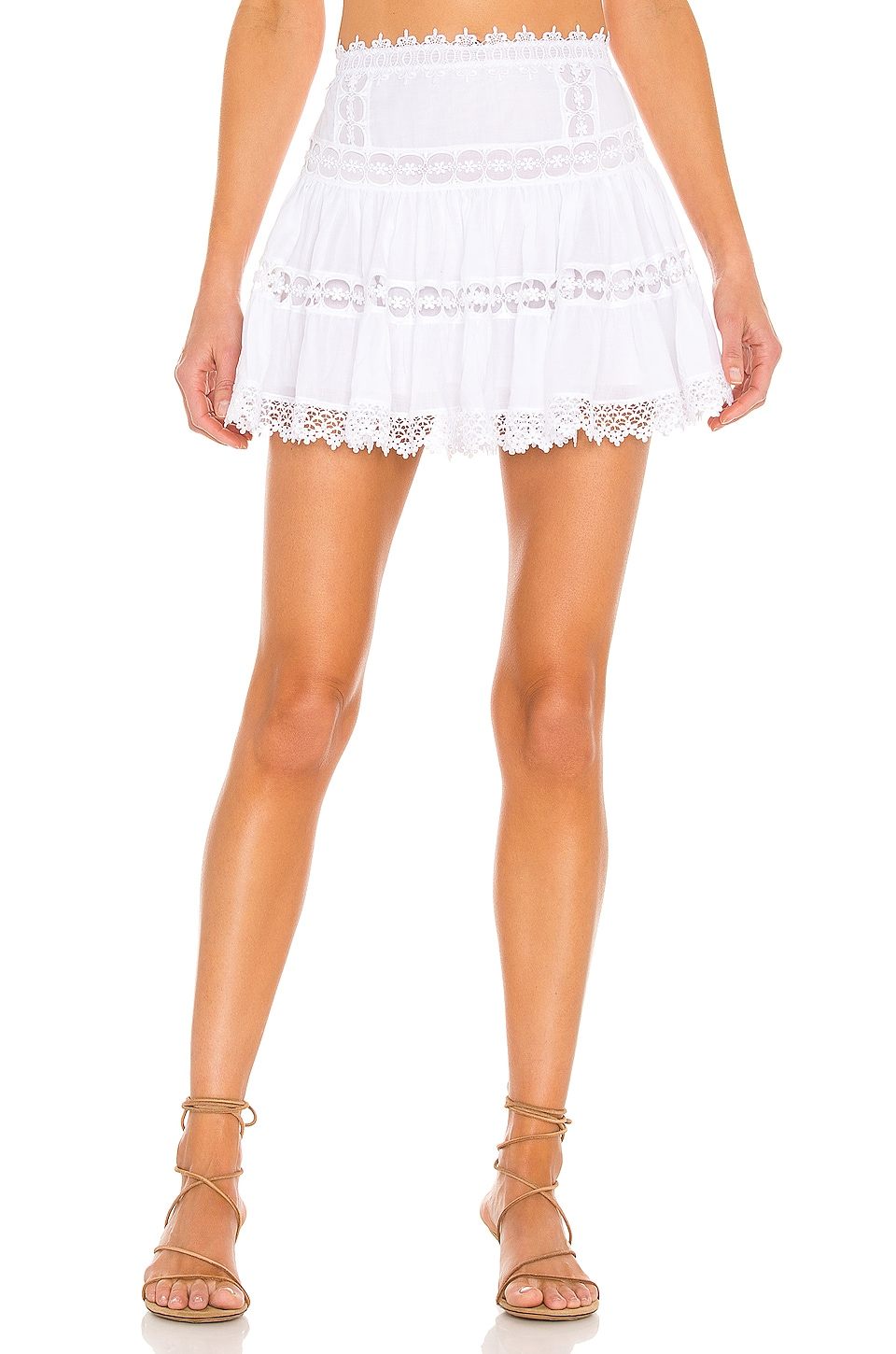 Charo Ruiz Ibiza Greta Skirt in White