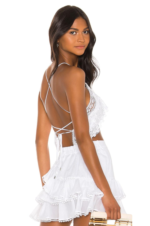 Charo Ruiz Ibiza Blanca Top in White