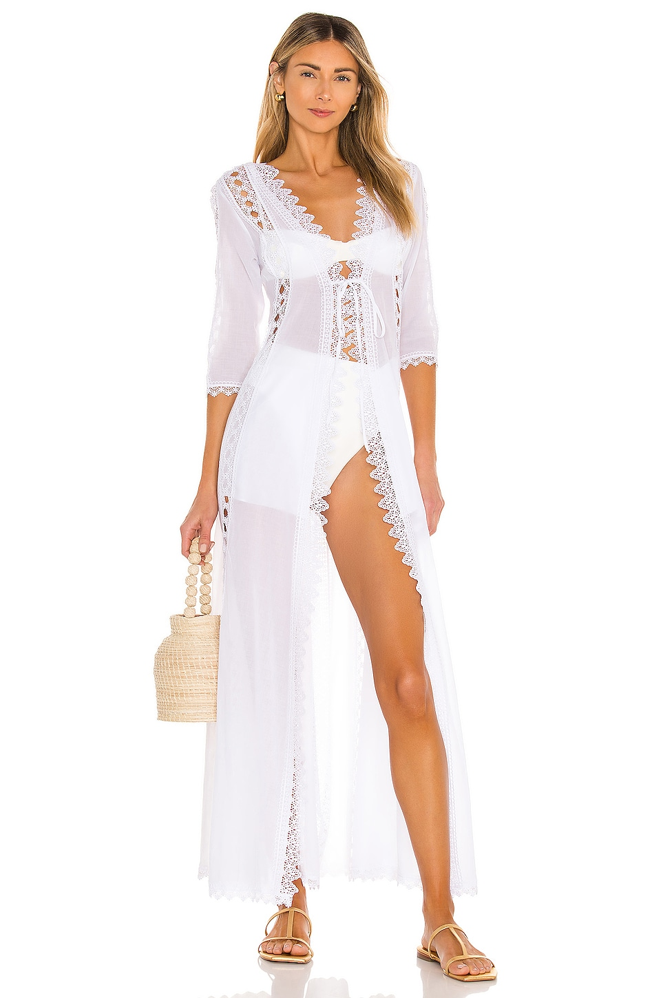 Charo Ruiz Ibiza Ali Jacket in White