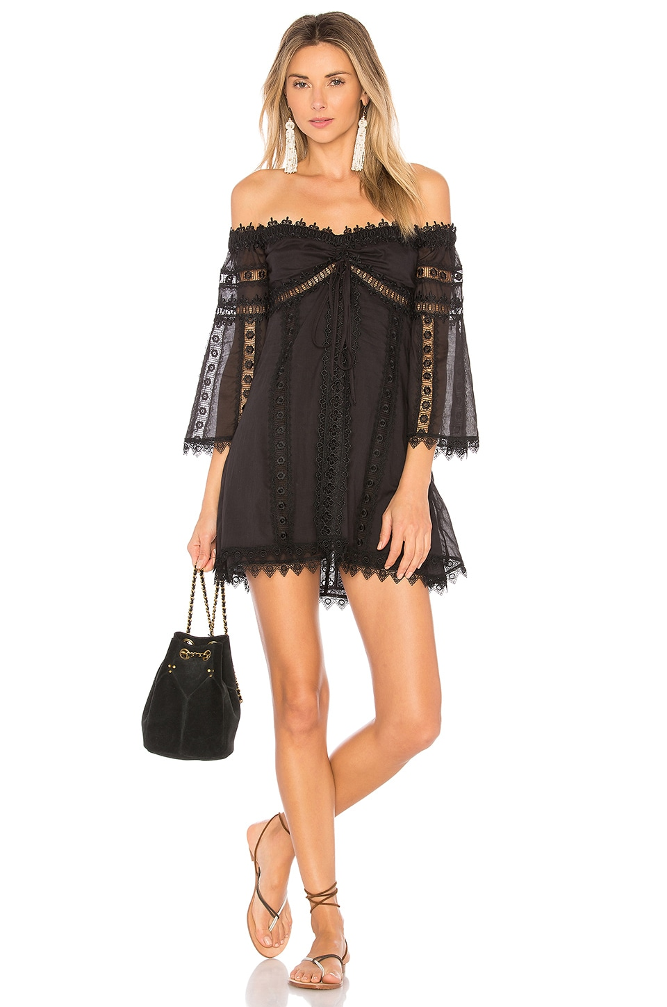 Charo Ruiz Ibiza Campana Dress in Black