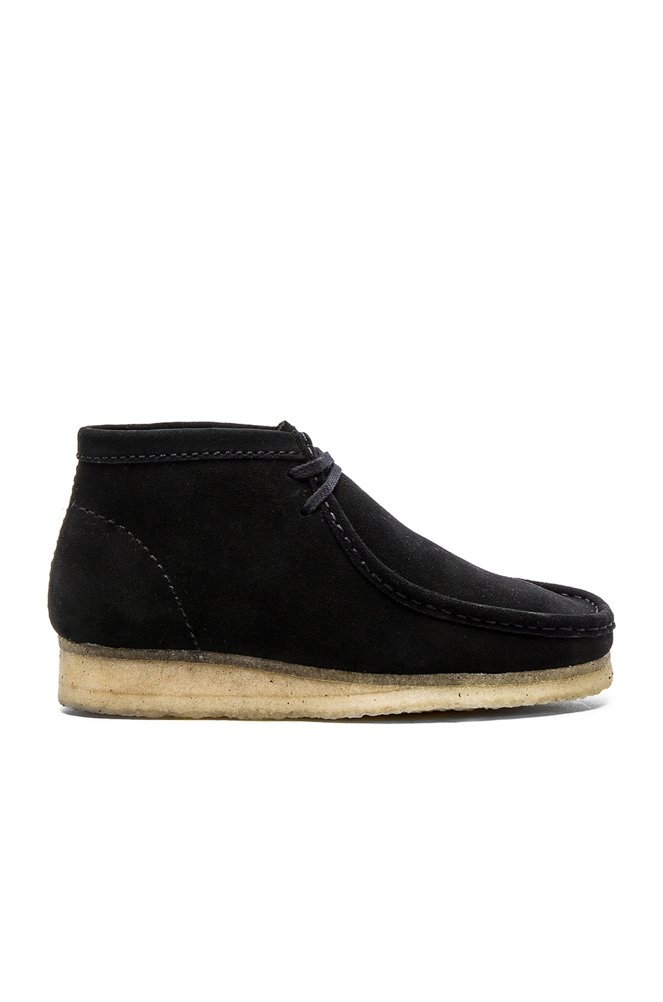 In Boot Wallabee Revolve Natural Suede Black Clarks Originals SatnxFaZ