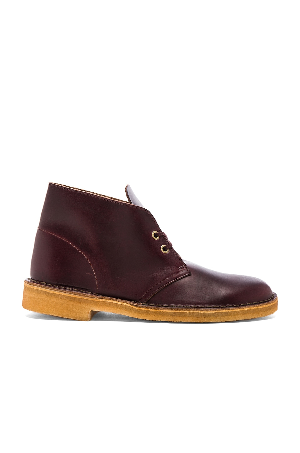 Clarks Originals Desert Boot Horween Leather in Red
