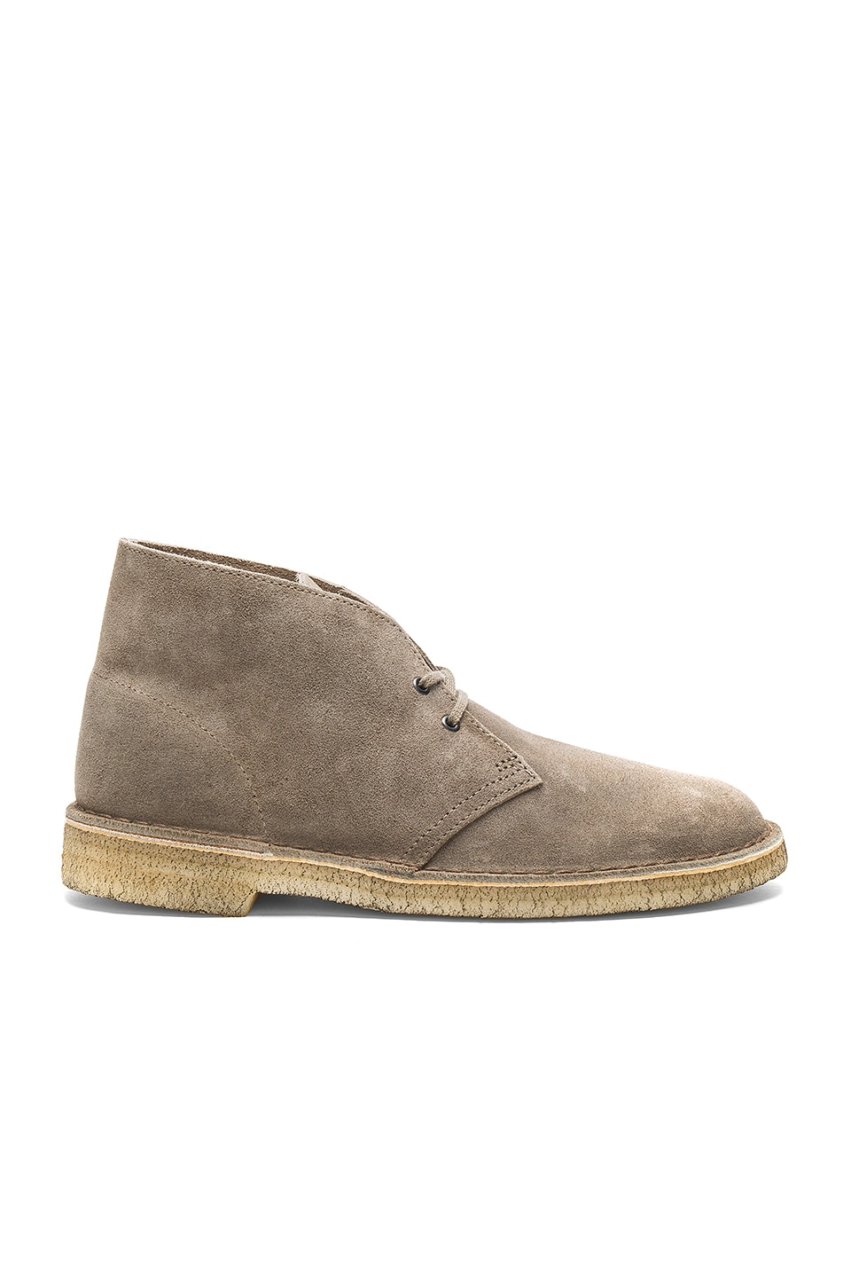 Clarks Desert Boot in Taupe Distressed