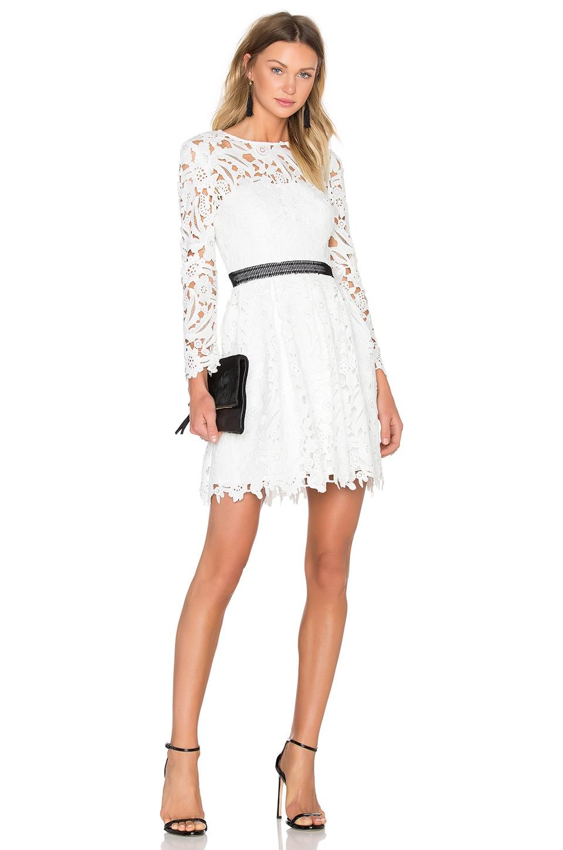Cynthia rowley wild flower fit flare dress in white revolve cynthia rowley wild flower fit flare dress in white mightylinksfo