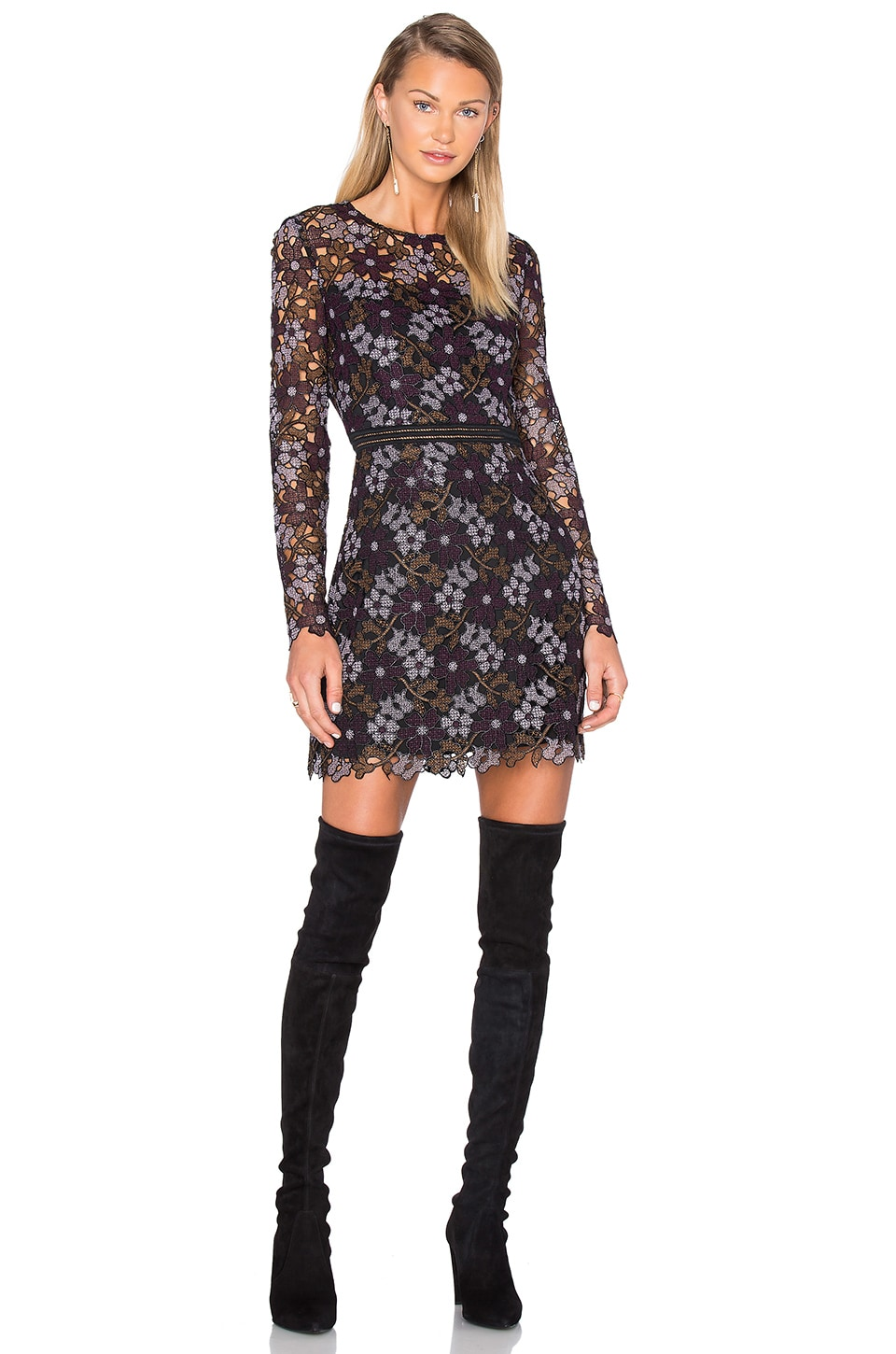 Lynden Bell Floral Mini Dress by Cynthia Rowley