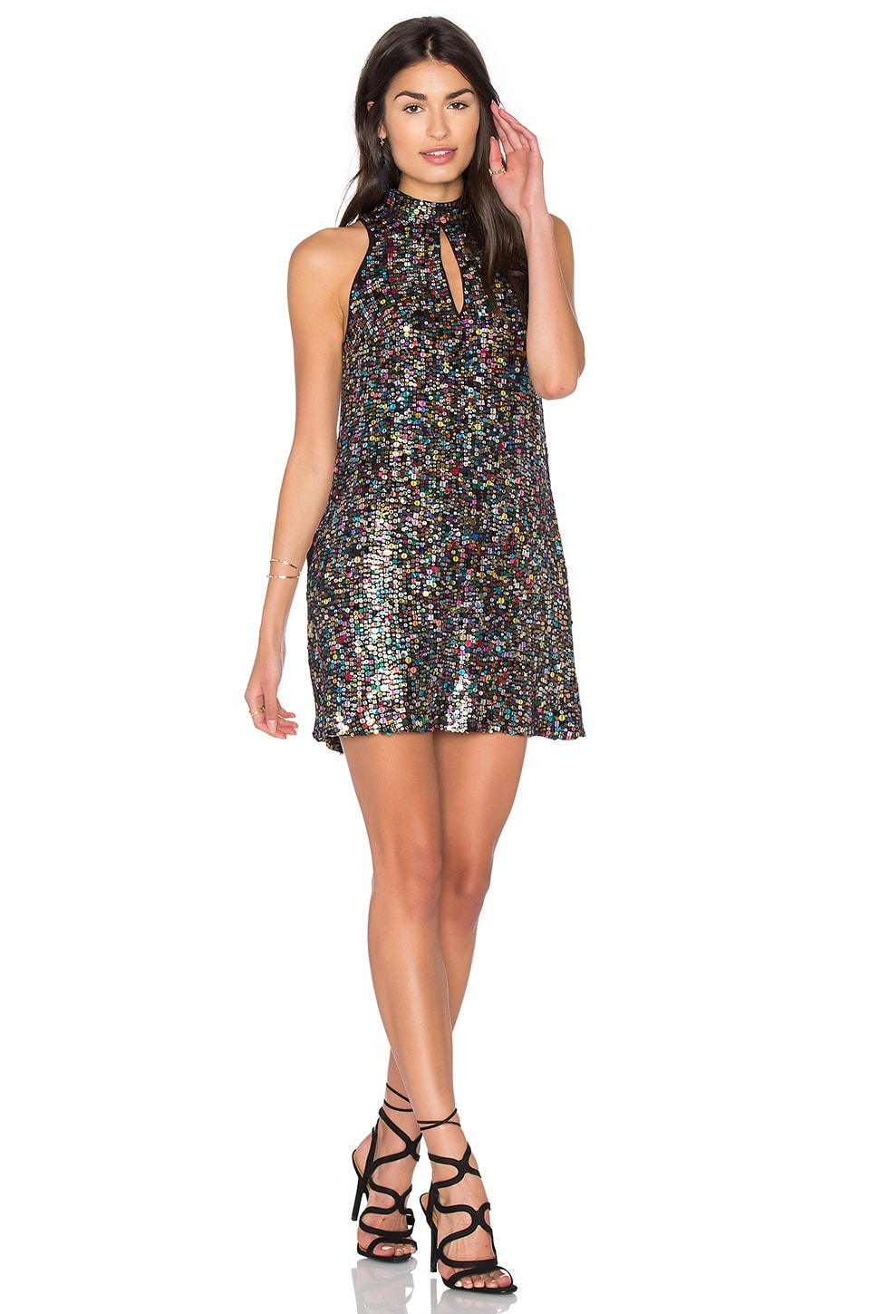 Sequin Shift Dress by Cynthia Rowley