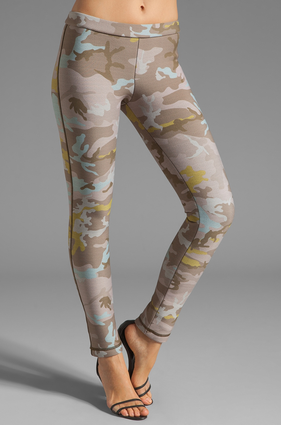 Cynthia Rowley Bonded Leggings in Camo