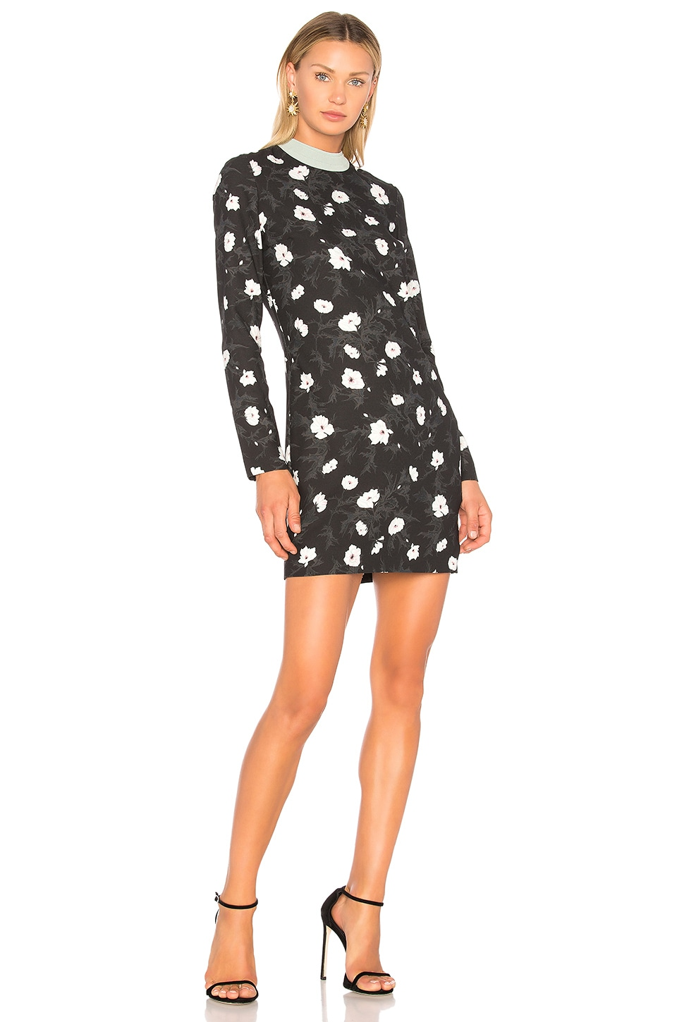 Floral Mini Dress by Carven