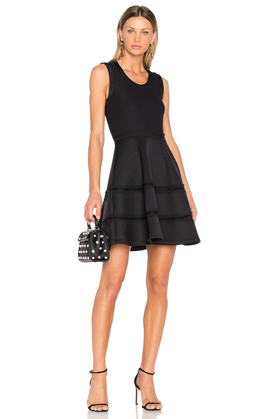 Ruffle Mini Dress by Carven