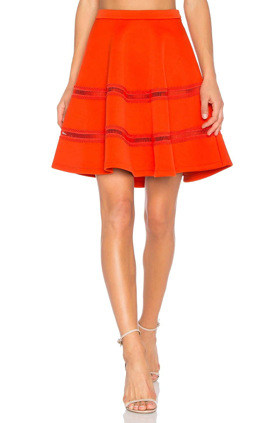 Flowy Mini Skirt by Carven