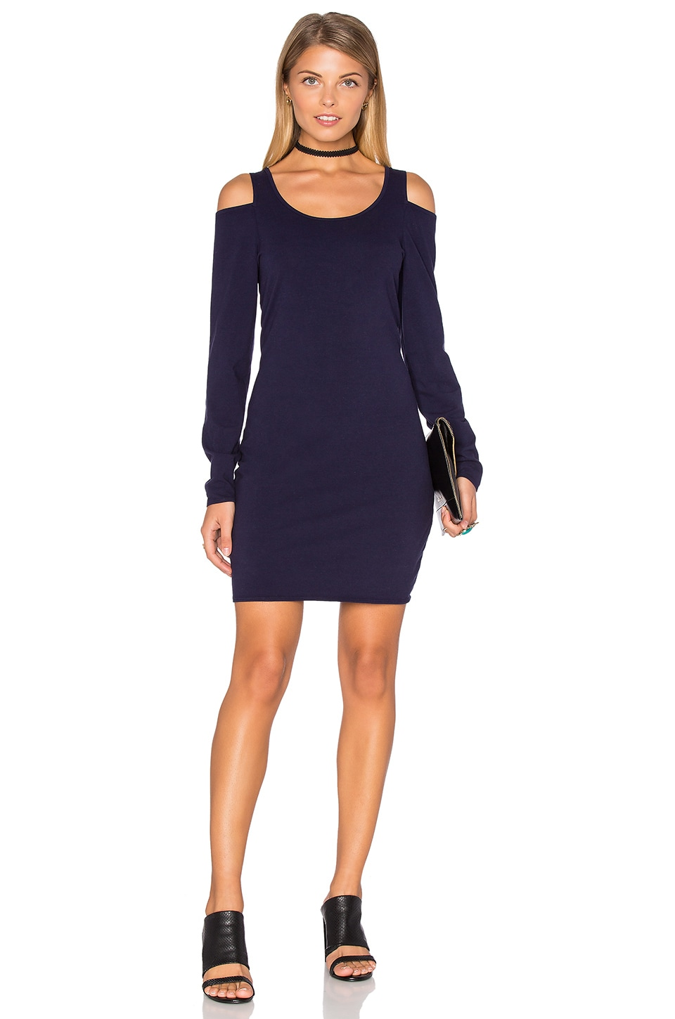 Cold Shoulder Bodycon Dress by Chaser