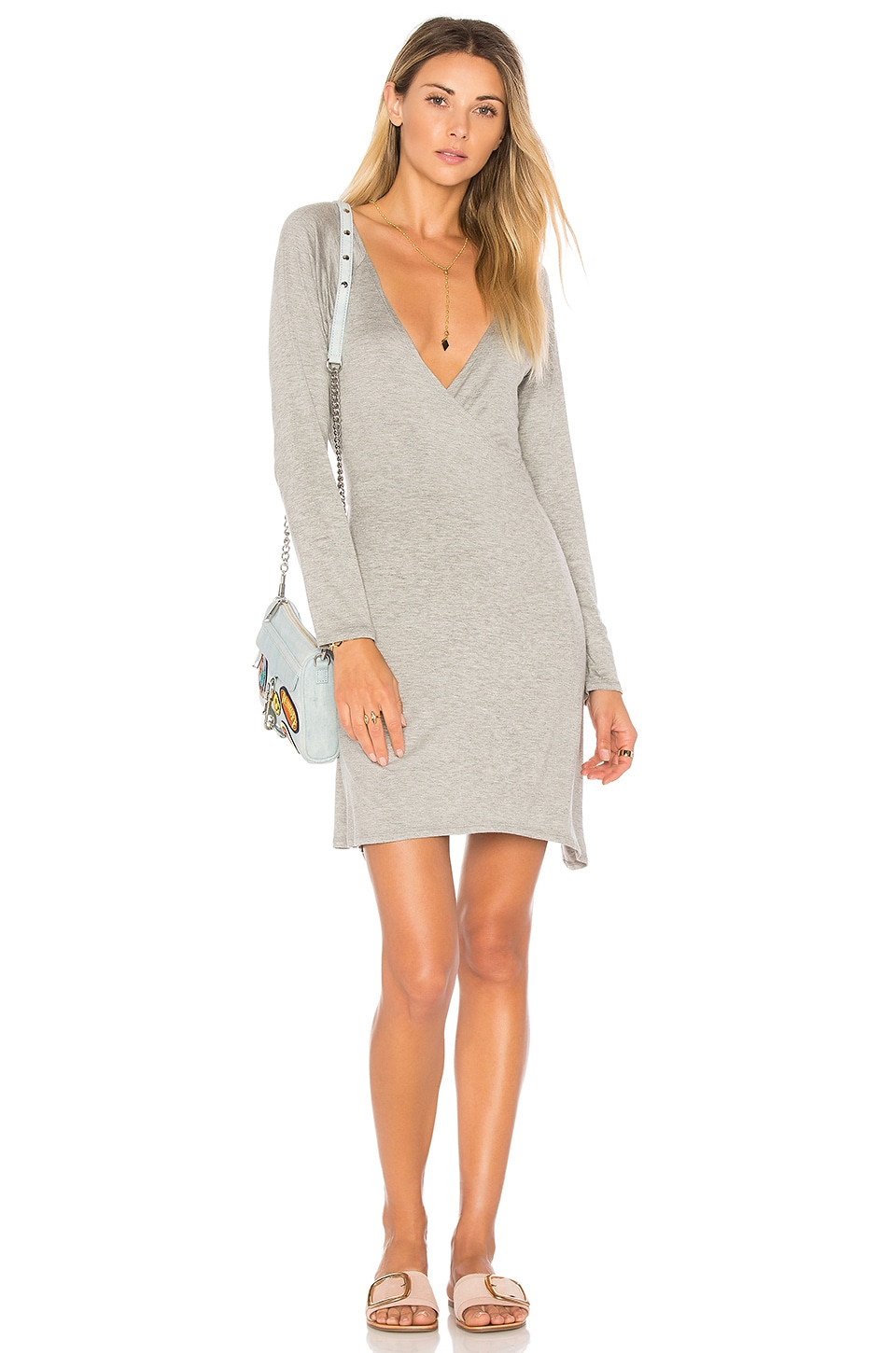 Cool Jersey Wrap Dress by Chaser