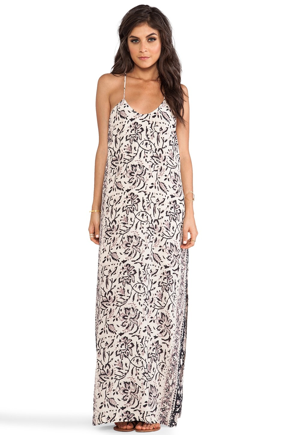 Chaser Maxi Tank Dress in Vintage Tapestry