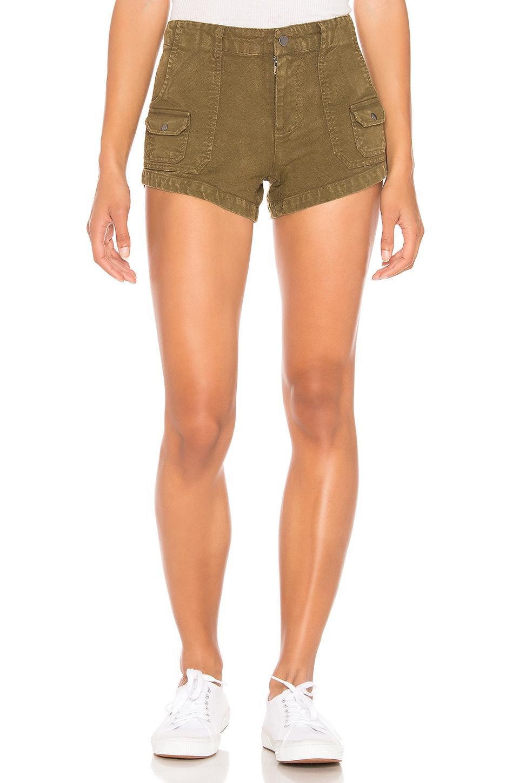 Chaser Cargo Shorts in Dark Olive