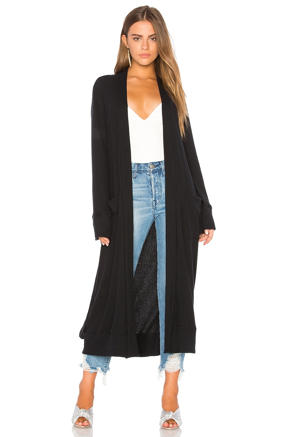 Love Rib Cardigan Robe