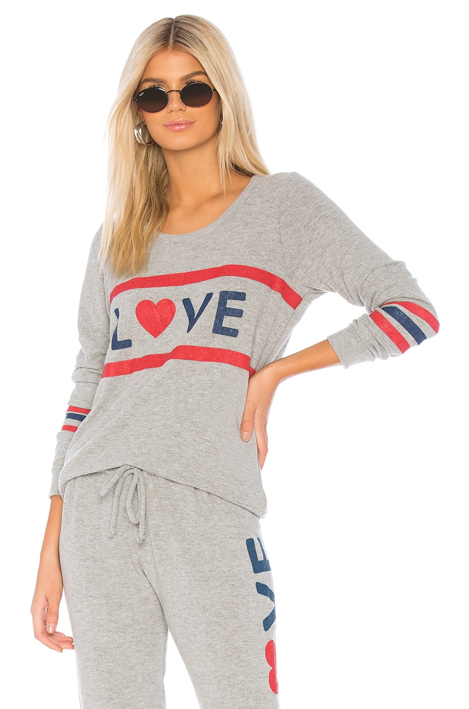 Love Open Back Pullover