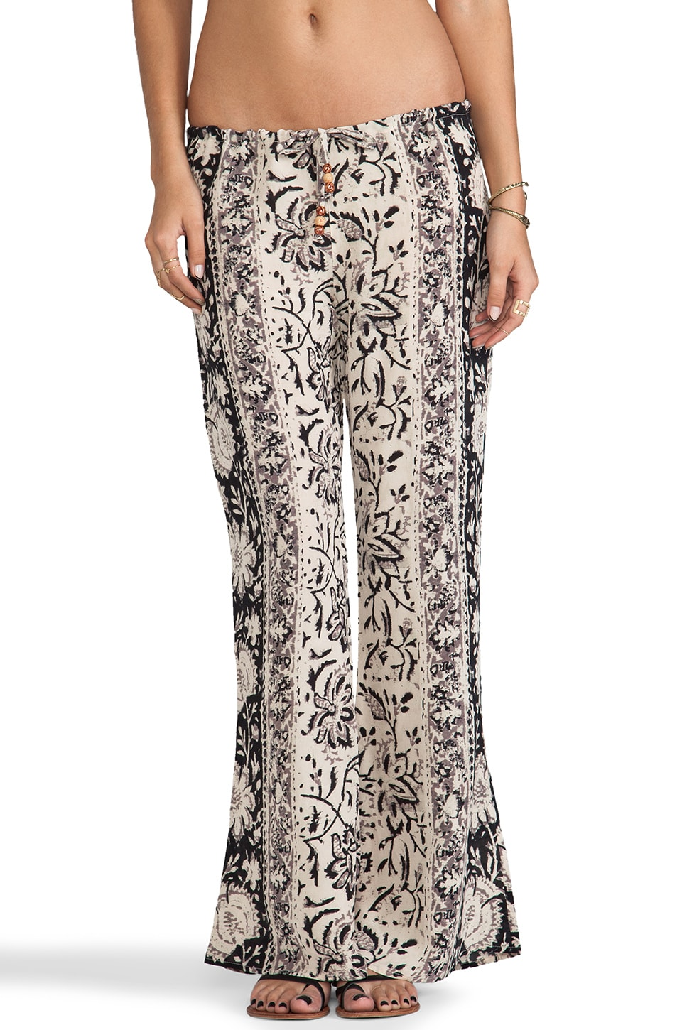 Chaser Wide Leg Pants in Vintage Tapestry
