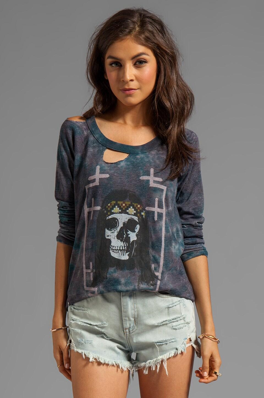 Chaser Hippie Skull Banger in Tie Dye