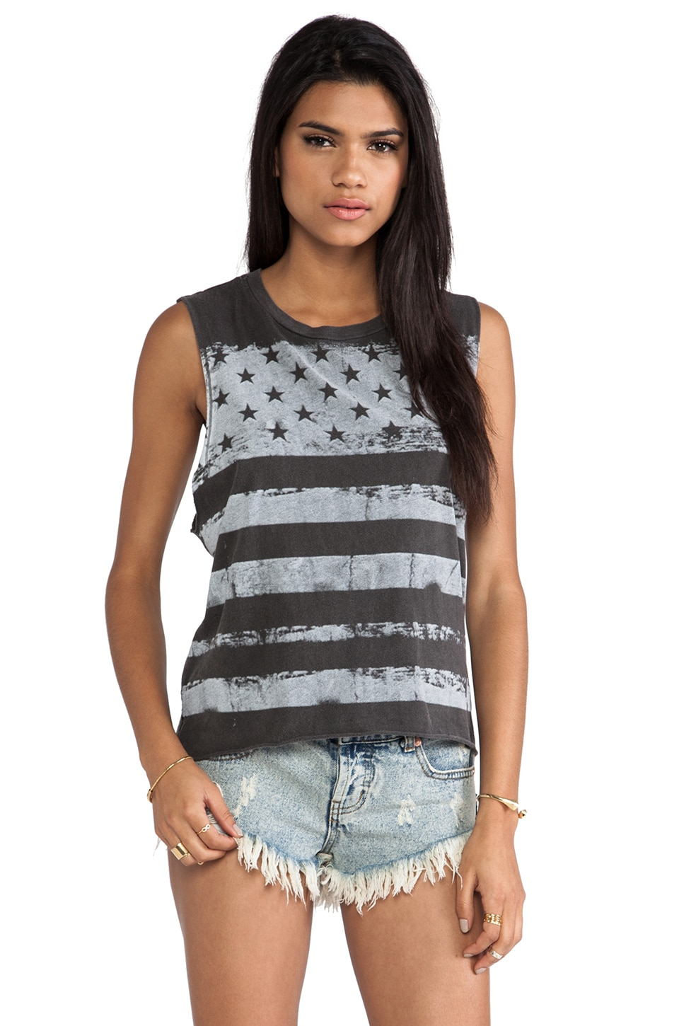 Chaser Vintage Flag Tank in Antique