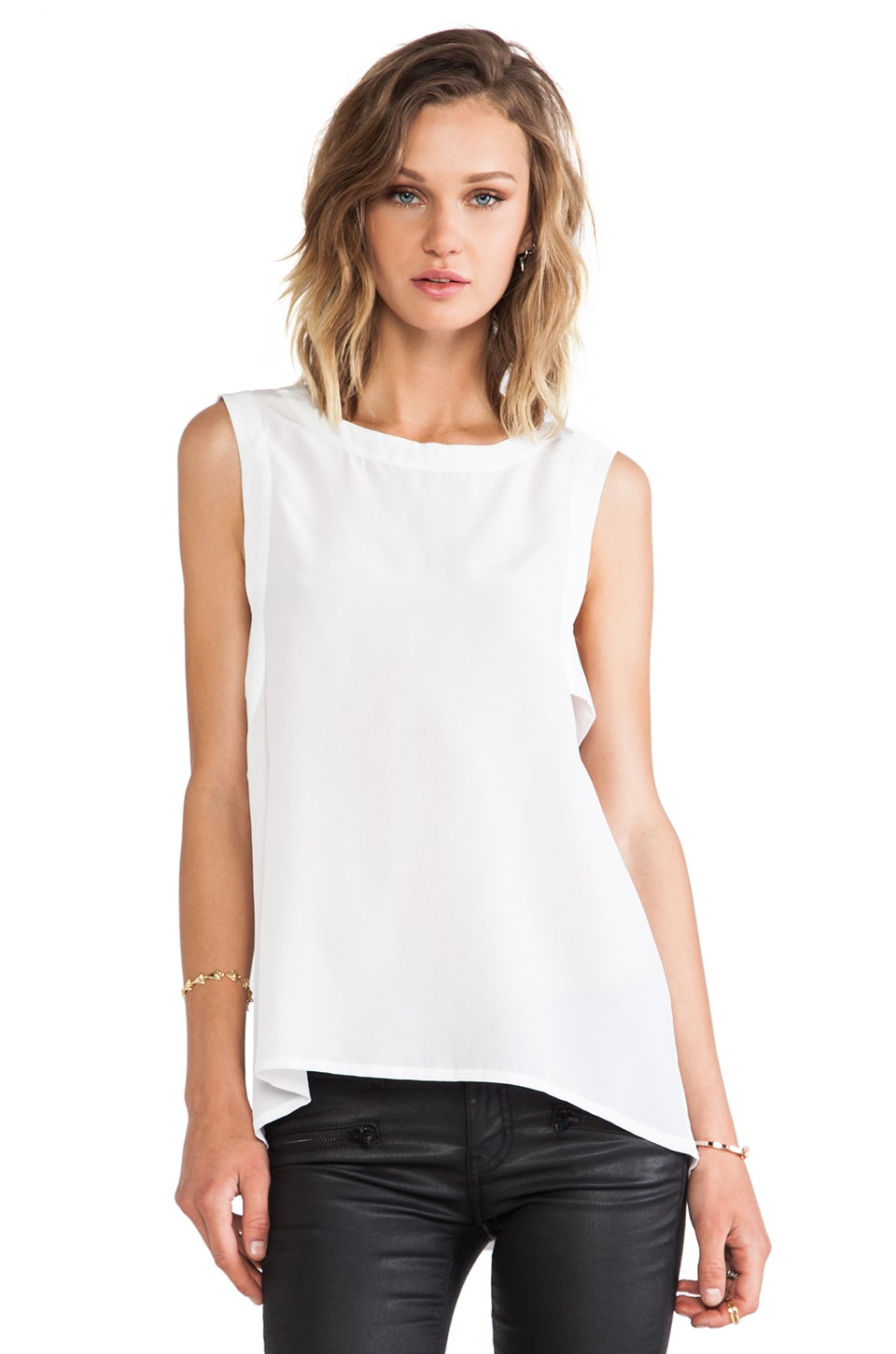 Chaser Panel Tank in White