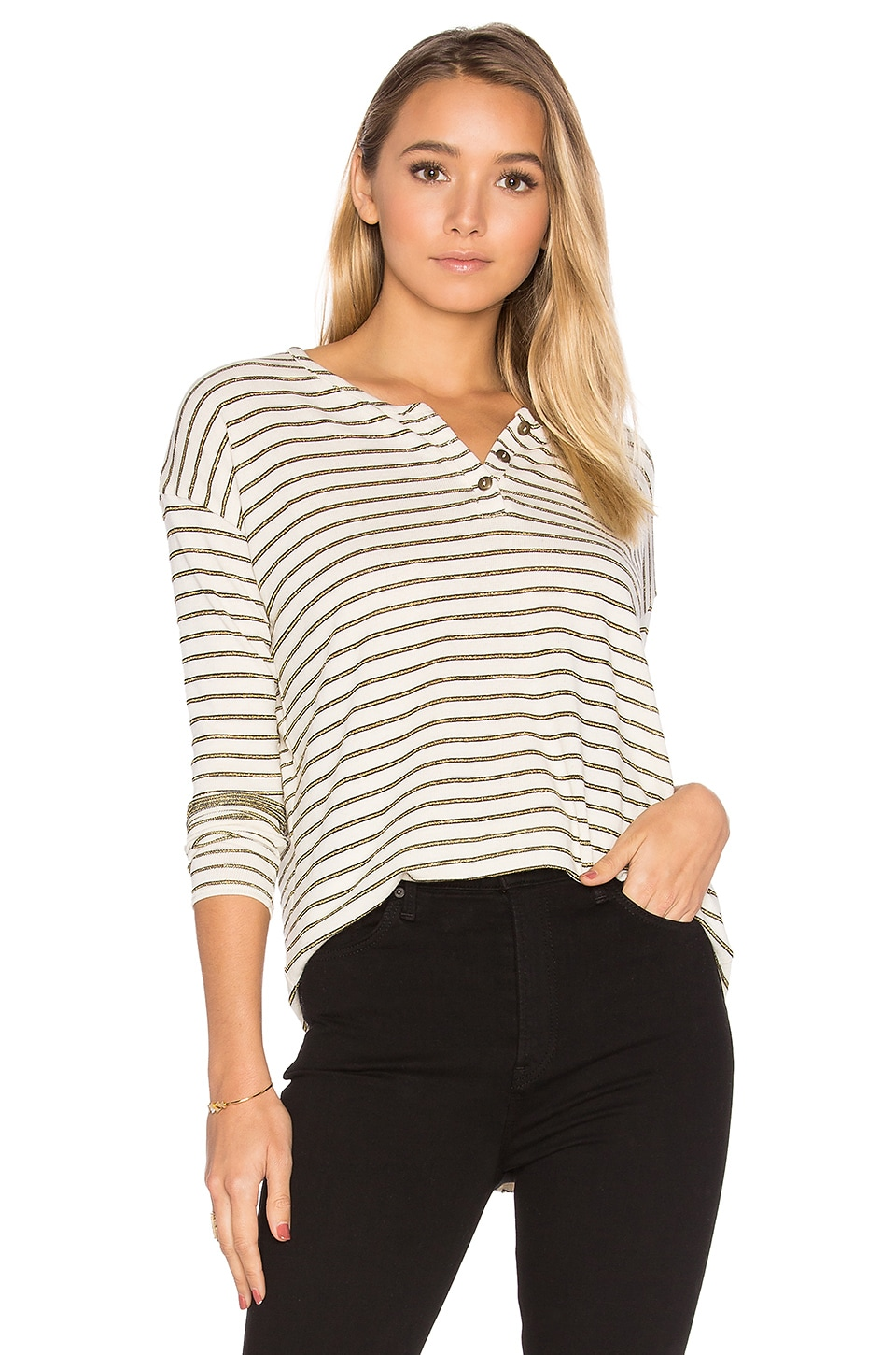 Oversized Henley by Chaser