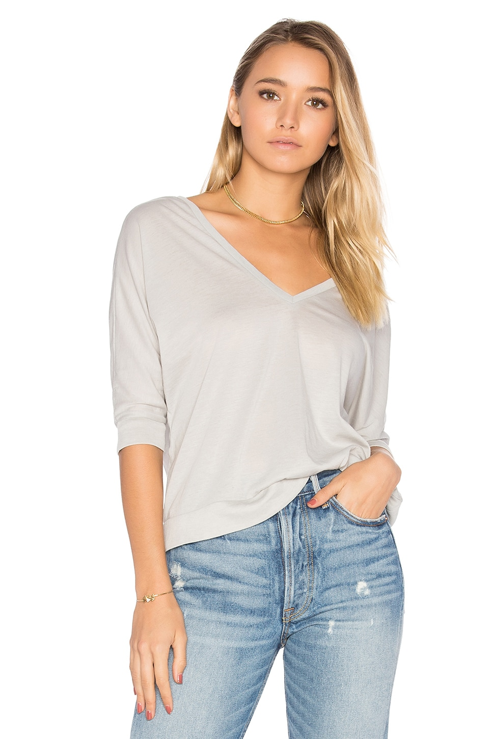 Double V Dolman Tee by Chaser