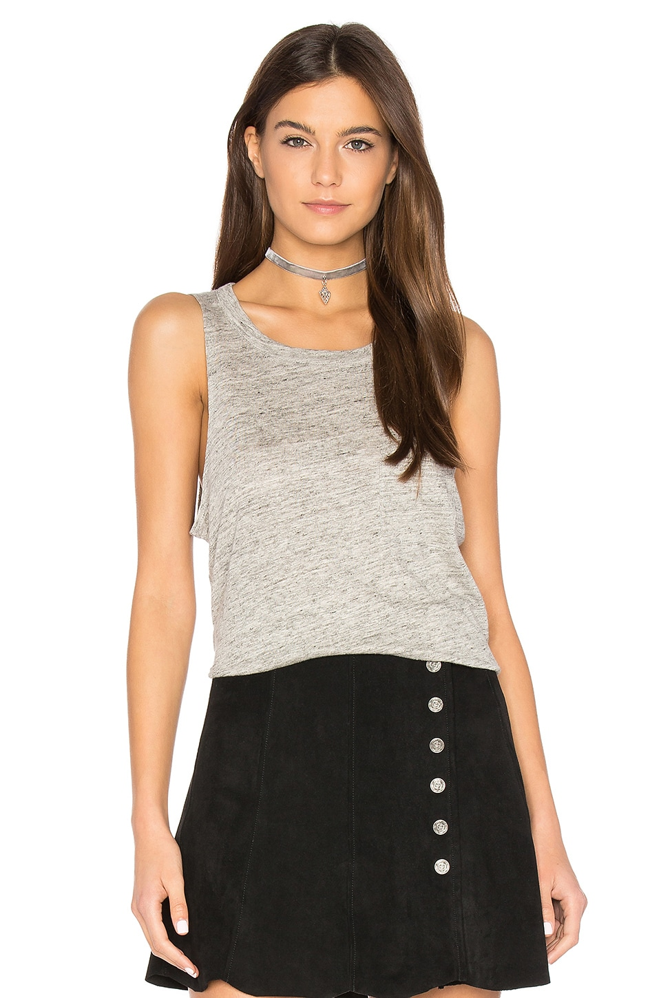 Pocket Shirttail Muscle Tee by Chaser