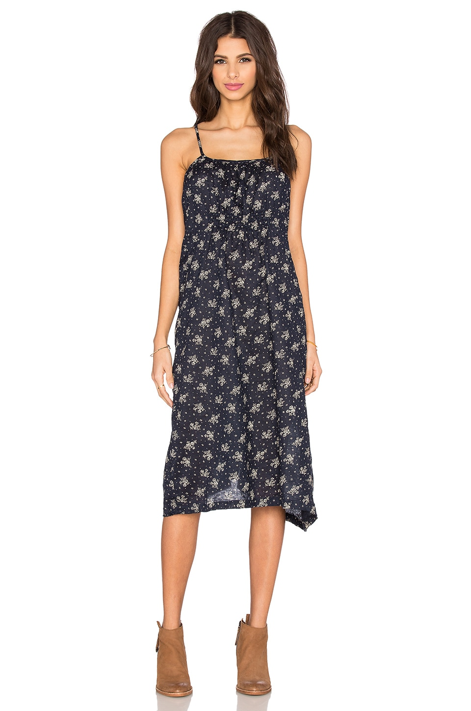 CP SHADES Elyse Floral Dress in Navy Floral
