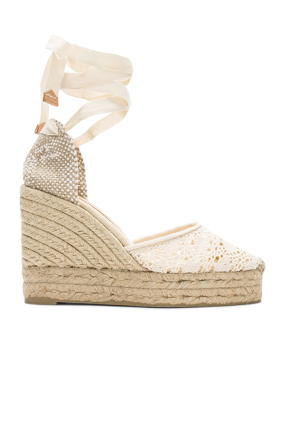 Castaner Carina Wedge in Natural